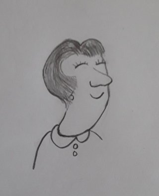 Cartoon woman