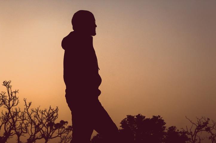 man-alone-silhouette