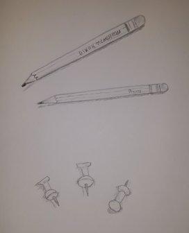 Pencils & Pushpins