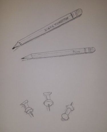 Pencils & Pushpins