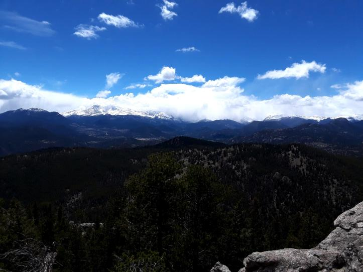 Twin Sisters Peak_Meeker Peak from Crosier Mtn_2019-05-18