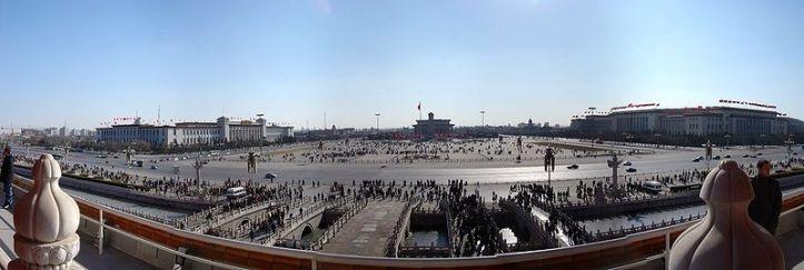 Beijing Tianamen Square-Panorama