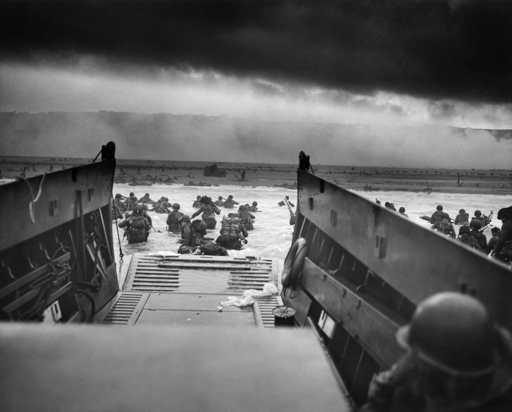 Invasion of Normandy on D-Day