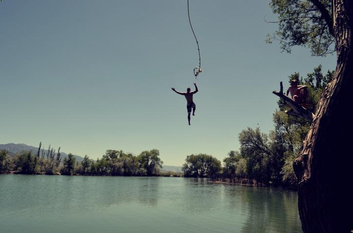 jump-let go