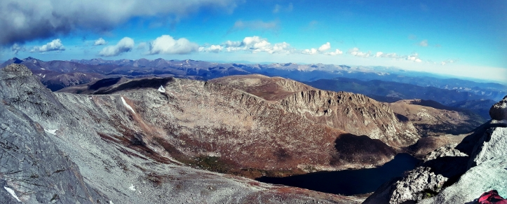 Panoramic View from Mount Evans