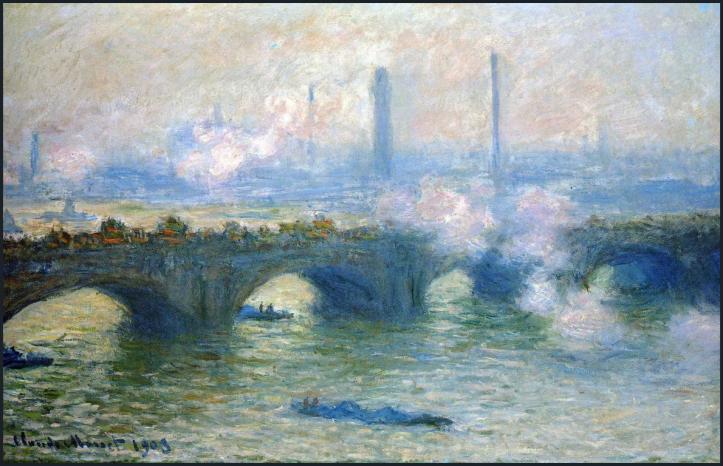 Waterloo Bridge-Claude Monet-1903