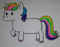 Cartoon Unicorn