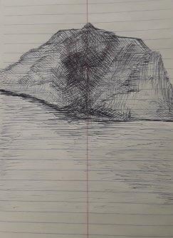 Mountain and Lake