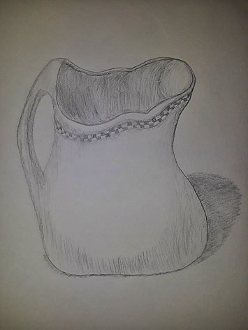 Checkered Pitcher