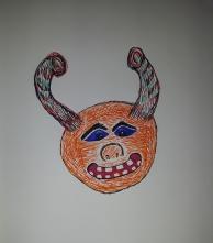 Friendly Monster Face
